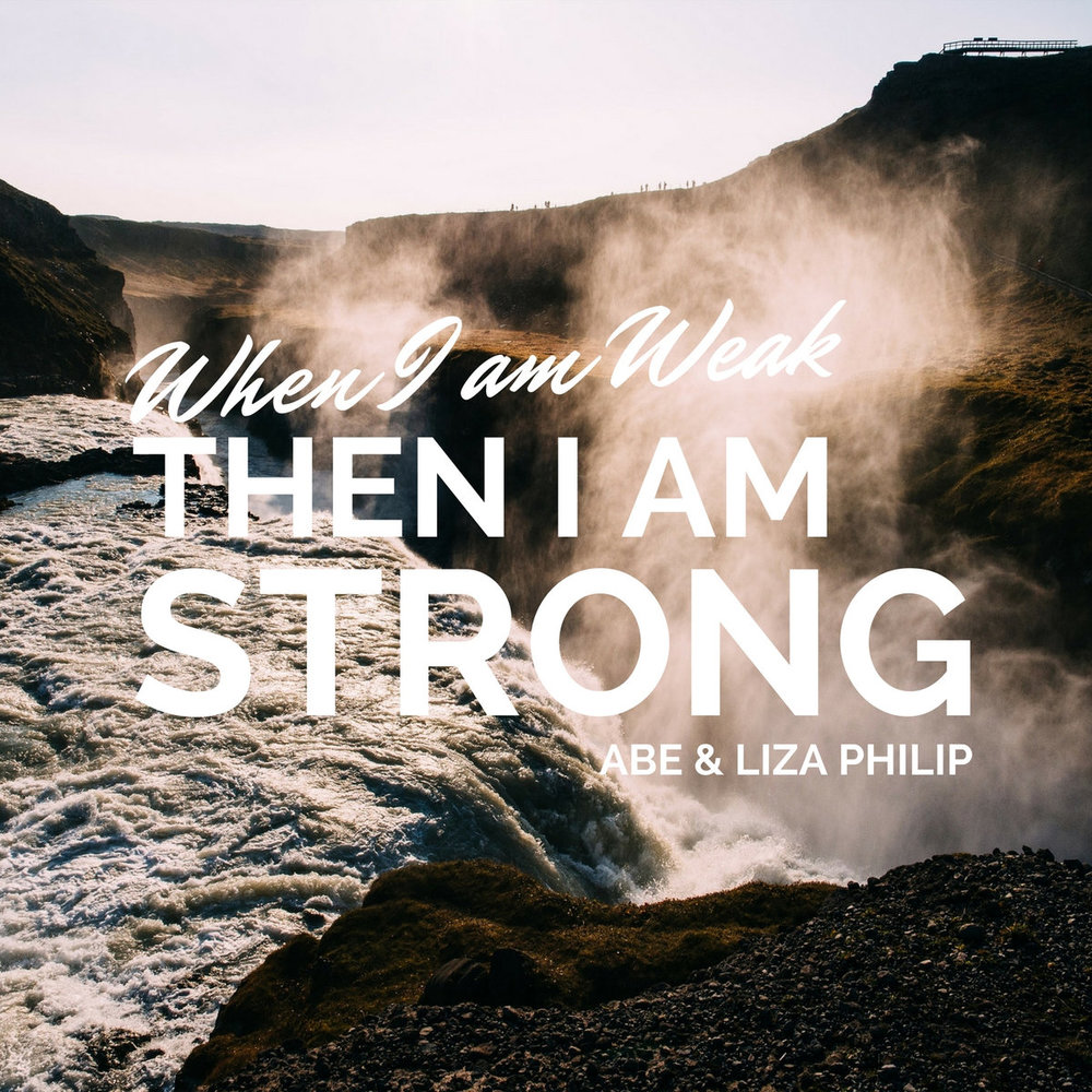 "When I Am Weak, Then I Am Strong    The title track comes from 2 Corinthians 12. In God's upside down kingdom, our weakness is exactly where God's power is most clearly displayed. Songs and hymns of worship and thankfulness fill the rest of the album. The conclusion is an orchestral setting of one of the most epic passages in Scripture. Right in the middle of Paul's intellectual masterpiece that we find in Romans, he explosively breaks out in an anthem of absolute awe: ""O the depth of the riches of the wisdom and the knowledge of God!"" We could think of no better way to end this collection of songs: ""for from Him, and through Him and to Him are all things!"" (Romans 11:36)"
