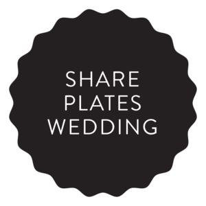 Share Plates Wedding