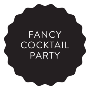 Fancy Wedding Cocktail Menu
