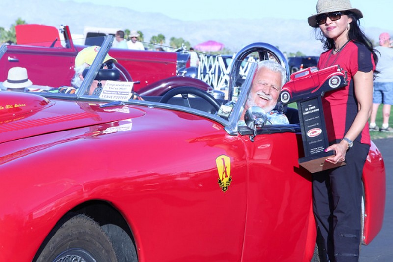 Congrats To Bob Lucurell The Allard Register - Palm springs classic car show