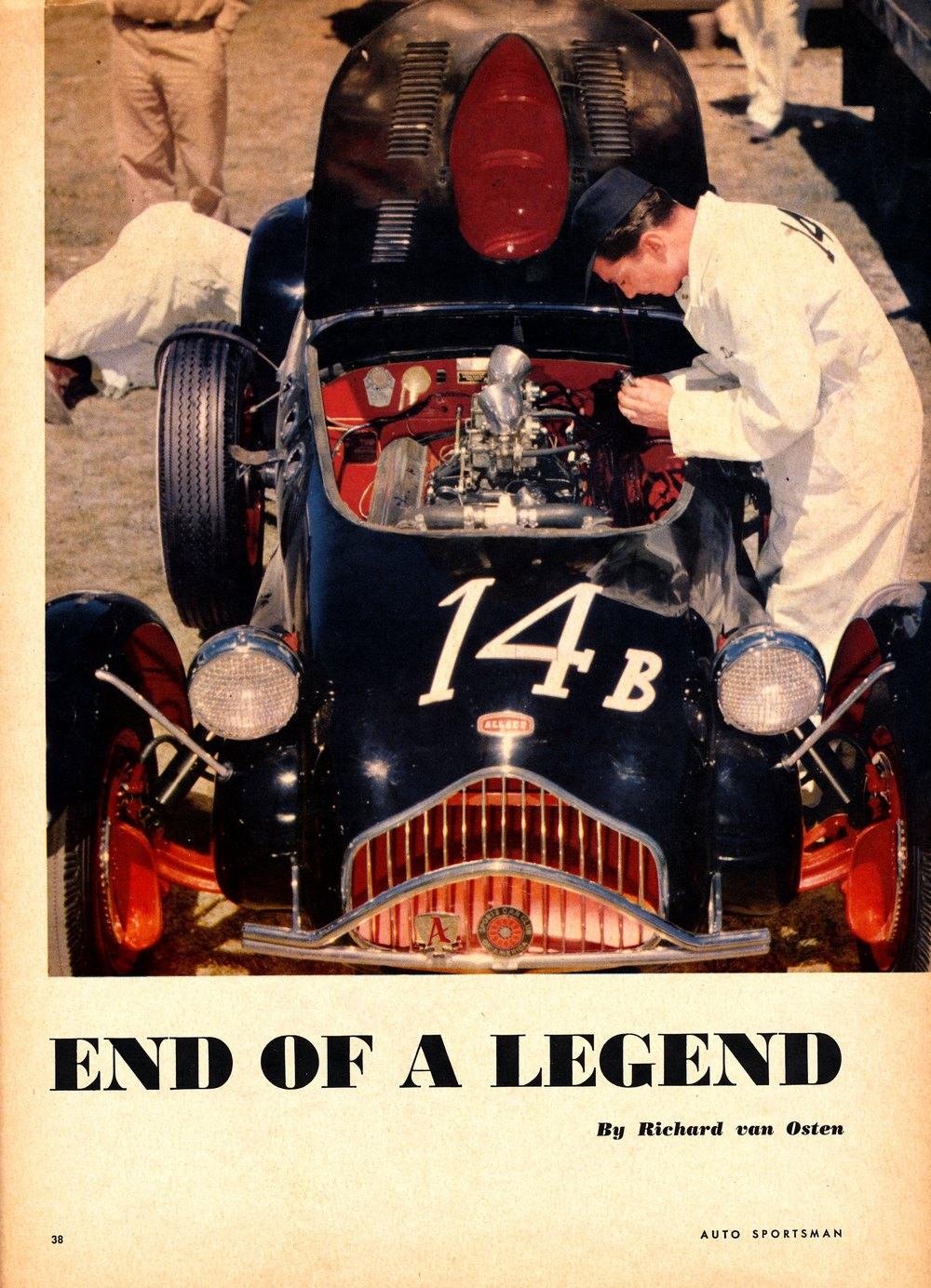 Auto Sportsman, August 1953