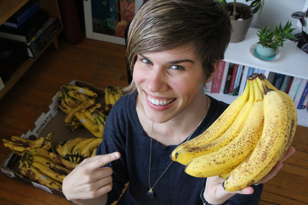 Click to watch  Jill's Youtube video  #worklesseatmorebananas