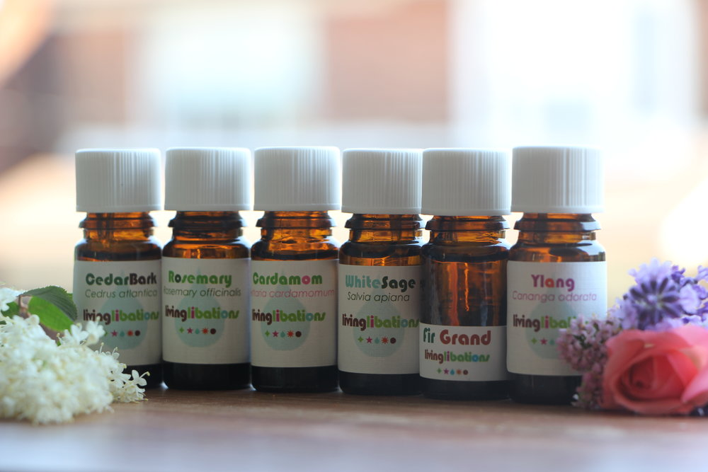 A few featured essential oils from my stash!