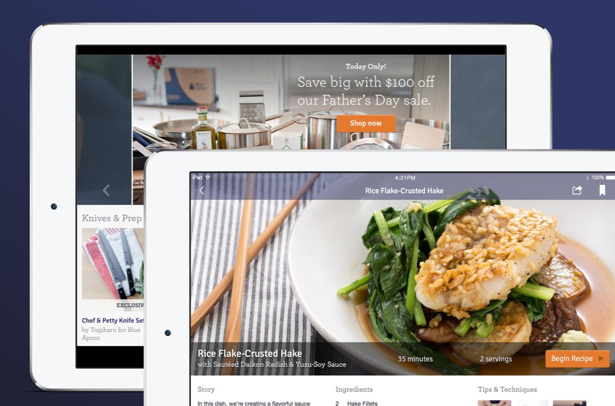 Blue apron upcoming menu - Blue Apron App