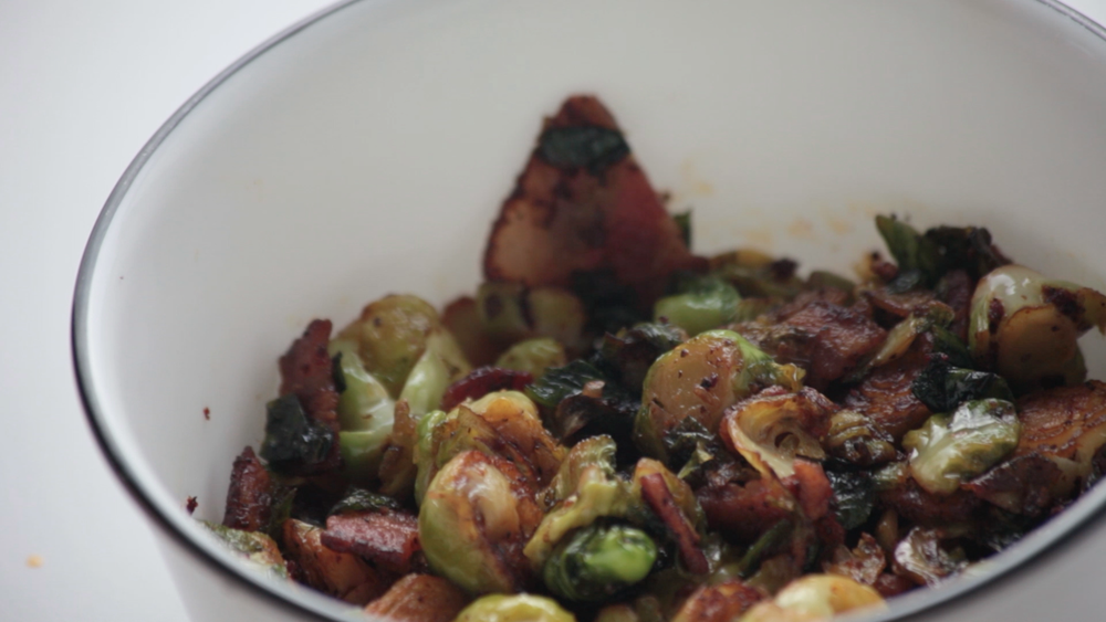 Bacon Chipotle Brussels Sprouts