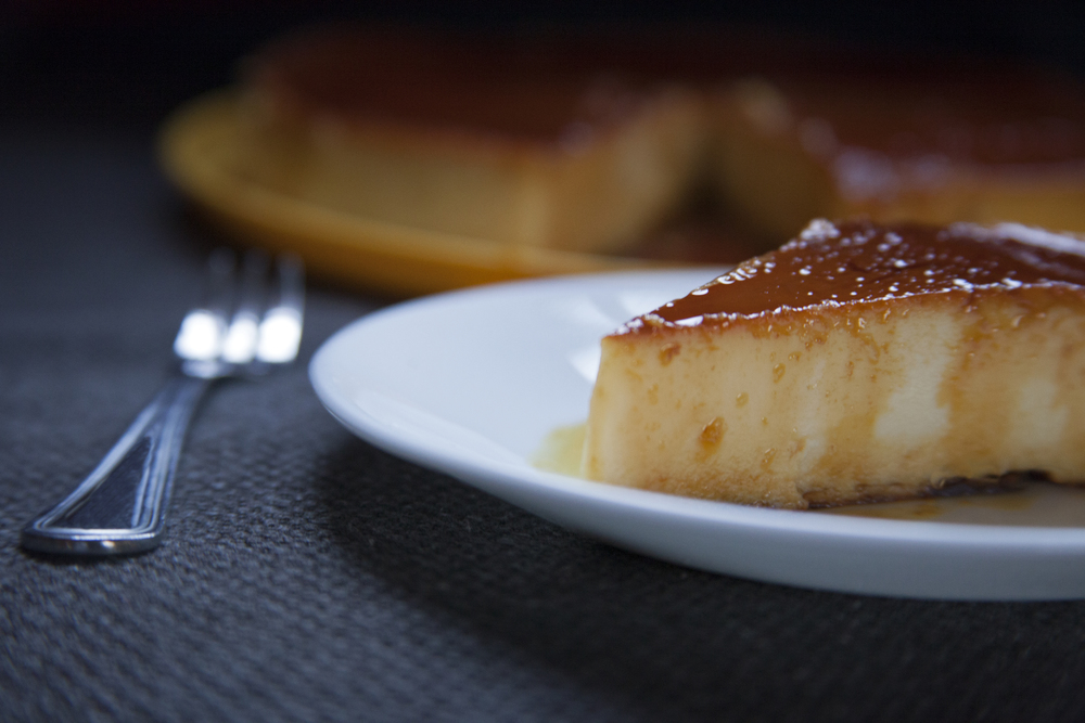Creamy Caramel Custard Pudding
