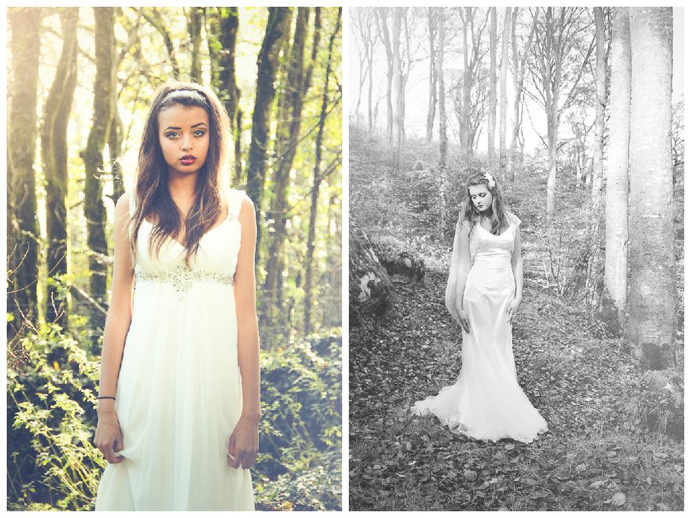 fairytale woodland wedding dress