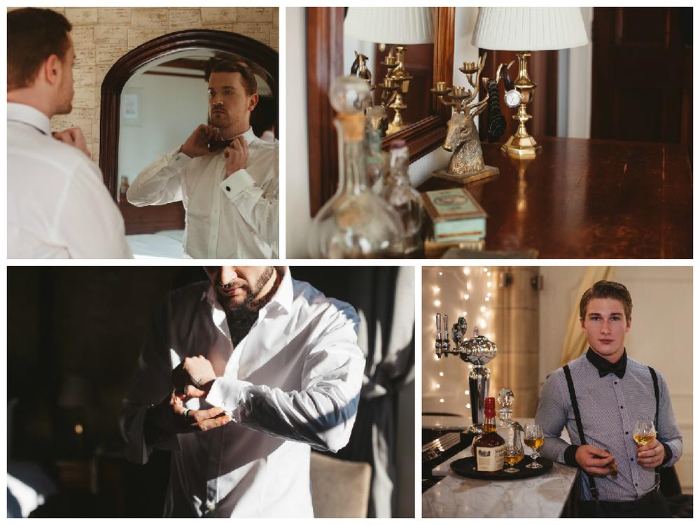 groomsmen preparation