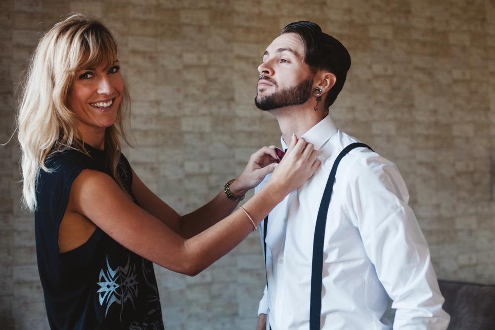 groom shoot behind the scenes