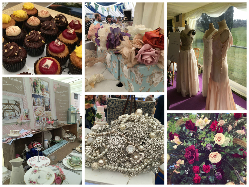 cakes and flowers from the wed show 2015