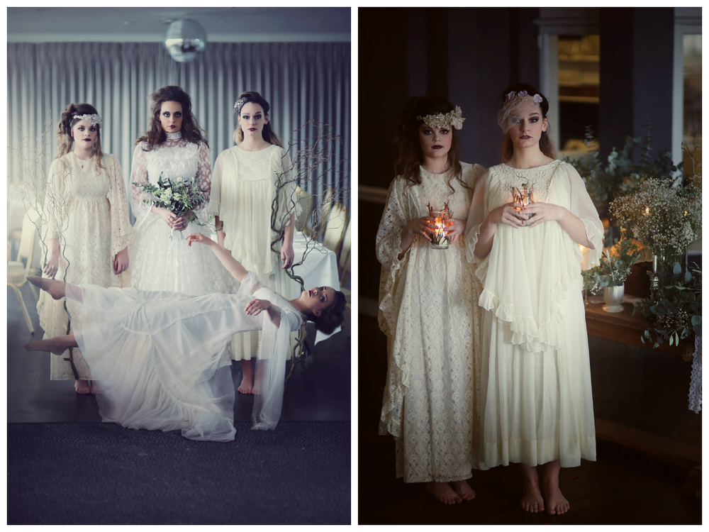 ghostly bridal gowns