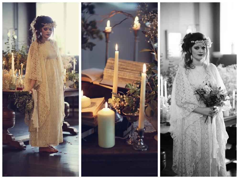 victorian wedding styling