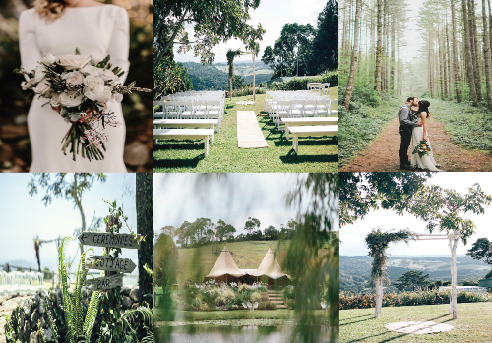 Ceremony Packages from the Classic White, Boho inspired and relaxed tropical themes take a look HERE