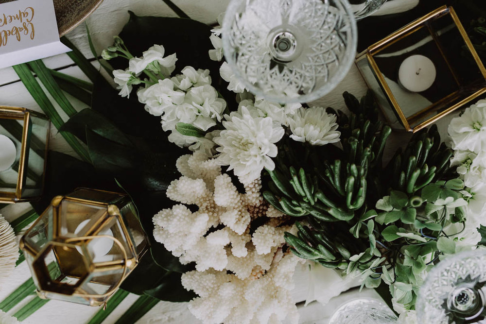 Photos by Carly Tia Photography. Florals by Wilderness Flowers.
