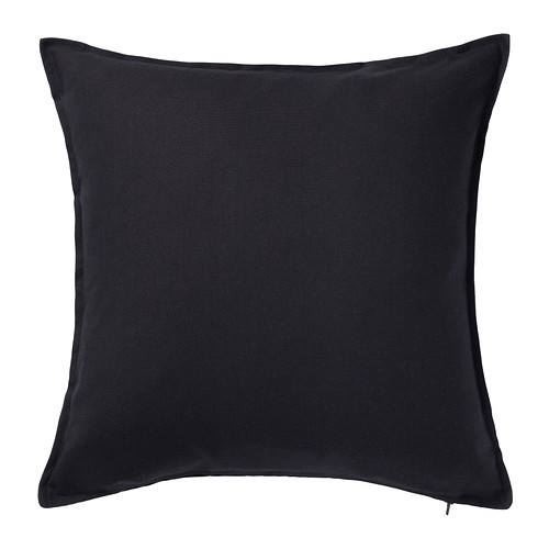Black Linen Cushion I $7.50ea I Qty 4