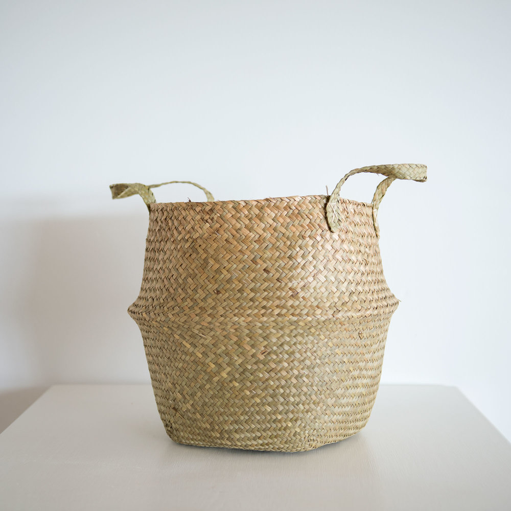 Natural Woven Basket I $10ea I Qty 6