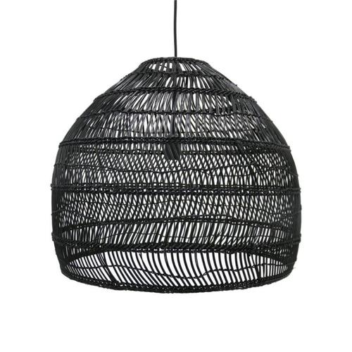 Black Wicker Pendant light (medium 60cm) | $50ea | Qty 4