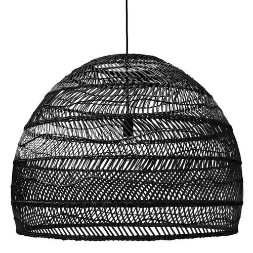 Black Wicker Pendant Light (large 80cm) | $70ea | Qty 2