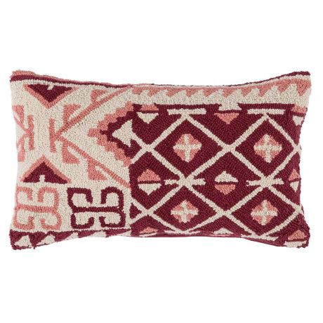 Moroccan Bourain Cushion Pink/Plum (60x40) | $10 | Qty 4