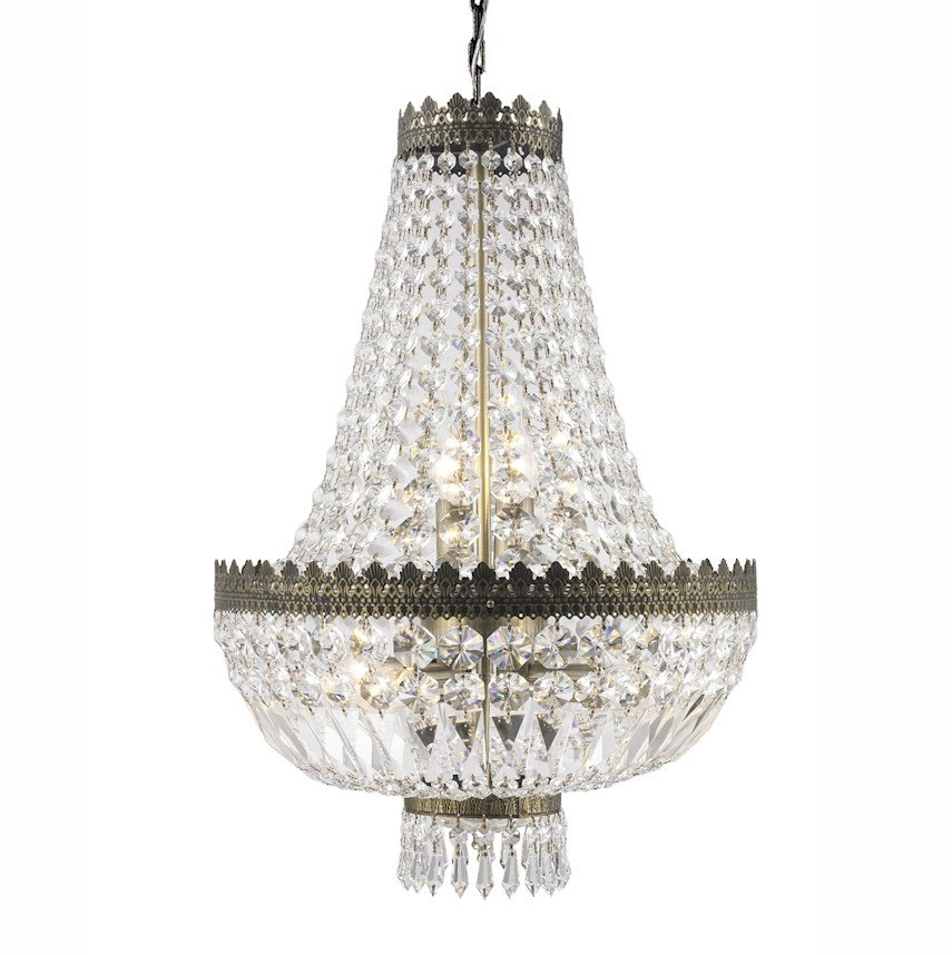 Crystal Glass Chandelier - Large I $130ea I Qty 1