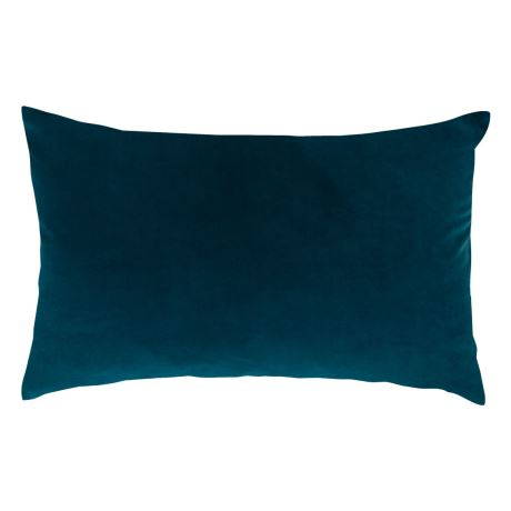 Peacock Velvet Oblong Cushion I $10ea I Qty 2