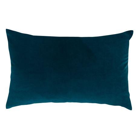 Teal Velvet Oblong Cushion I $10ea I Qty 2