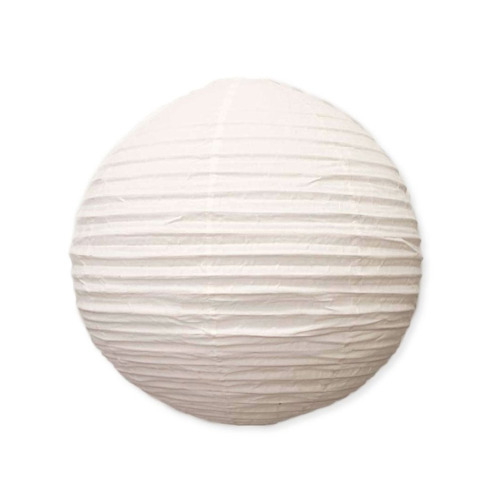 Cotton Lantern Round - Large I $40ea I Qty 3