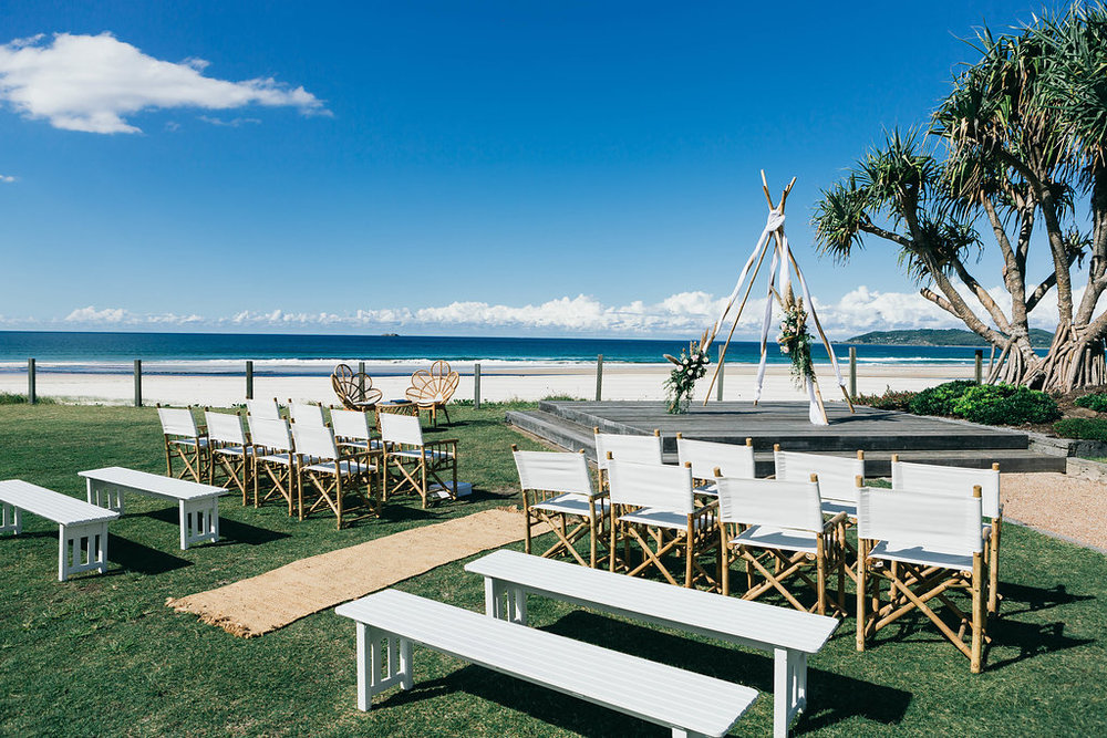 Venue - Elements at Byron Bay | Florals - Lola's Wild Flowers | Photo - Fig Tree Pictures