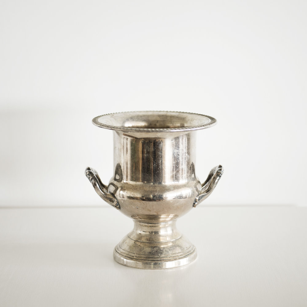 Vintage Silver Ice Bucket | $ 20ea | Qty 2