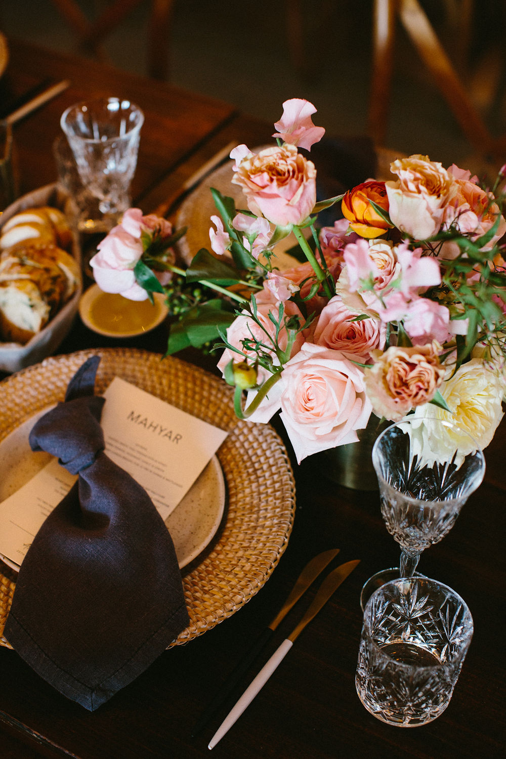Florals - The French Petal | Venue - Earth House | Photos - Amelia Fullarton