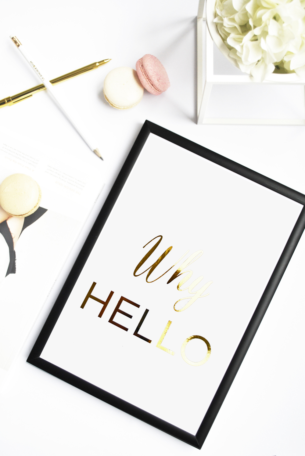 Skandidesign_gold foil print- why hello.jpg