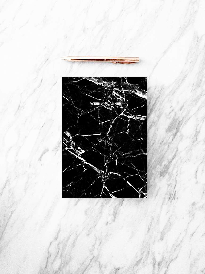 SkandiDesign_black marble weekly planner front Notebook..jpg