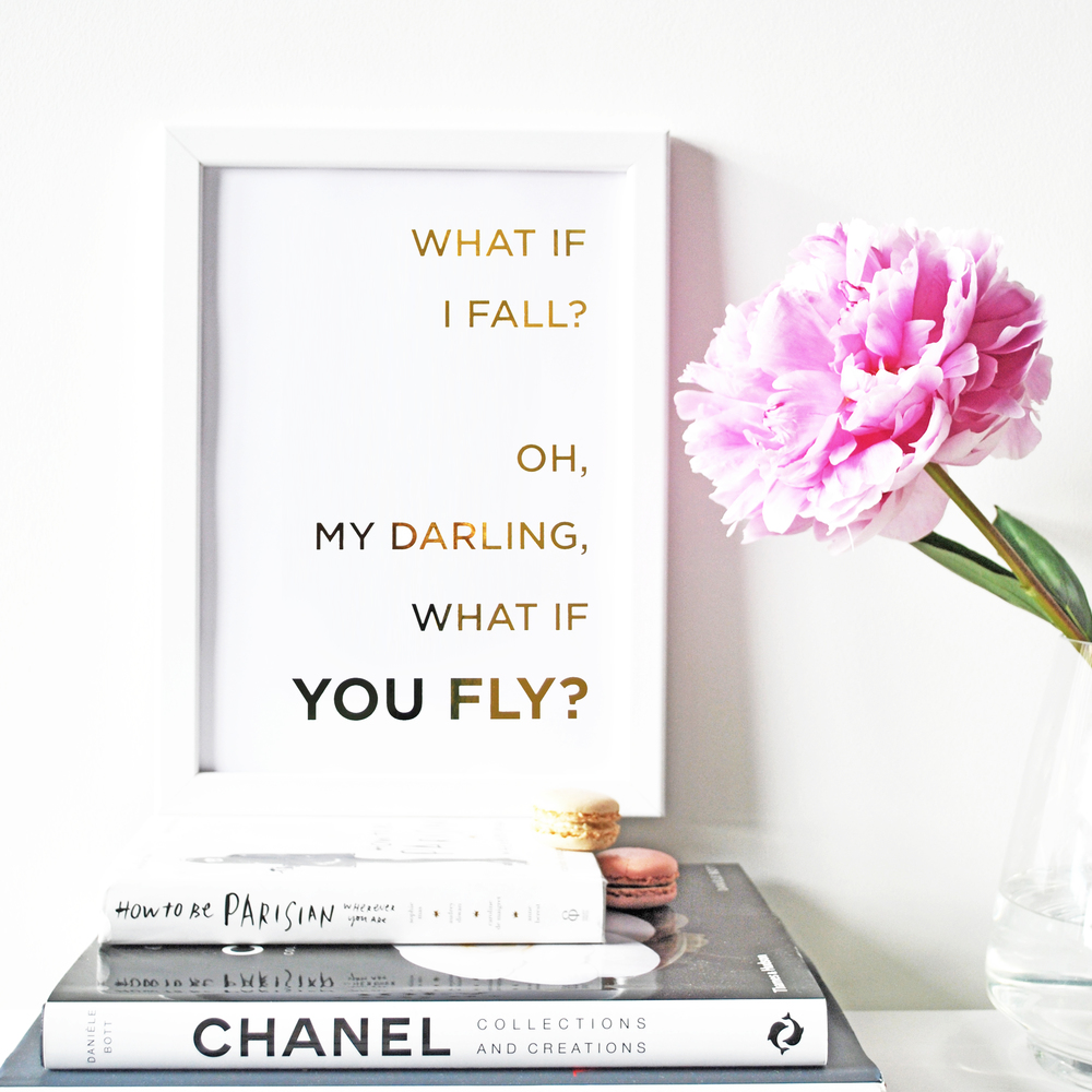 SkandiDesign gold foil print, what if I fall.jpg