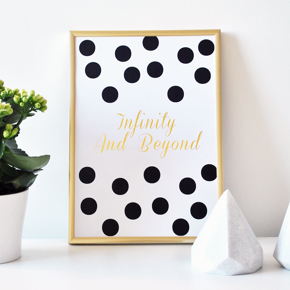 infinity and beyond skandidesign gold foil print.jpg