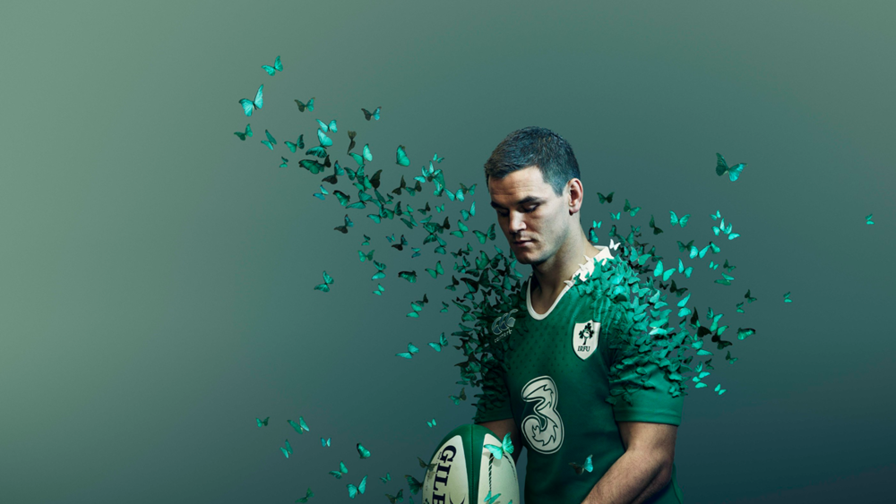 #1 Irish rugby team playing the Six Nations