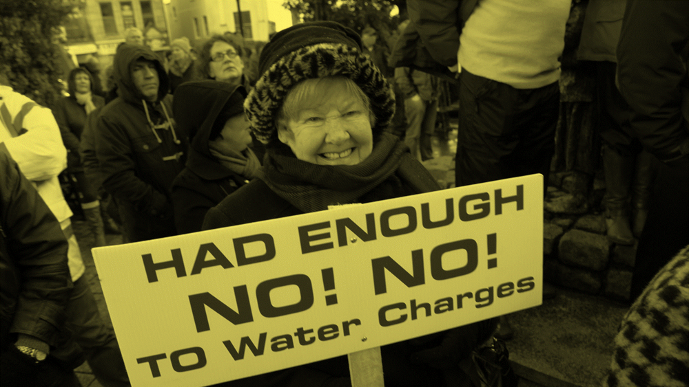#6 Water charge protest and arrests