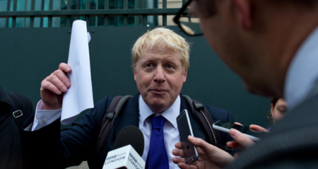 Boris Johnson, a supporter of Britain leaving the EU