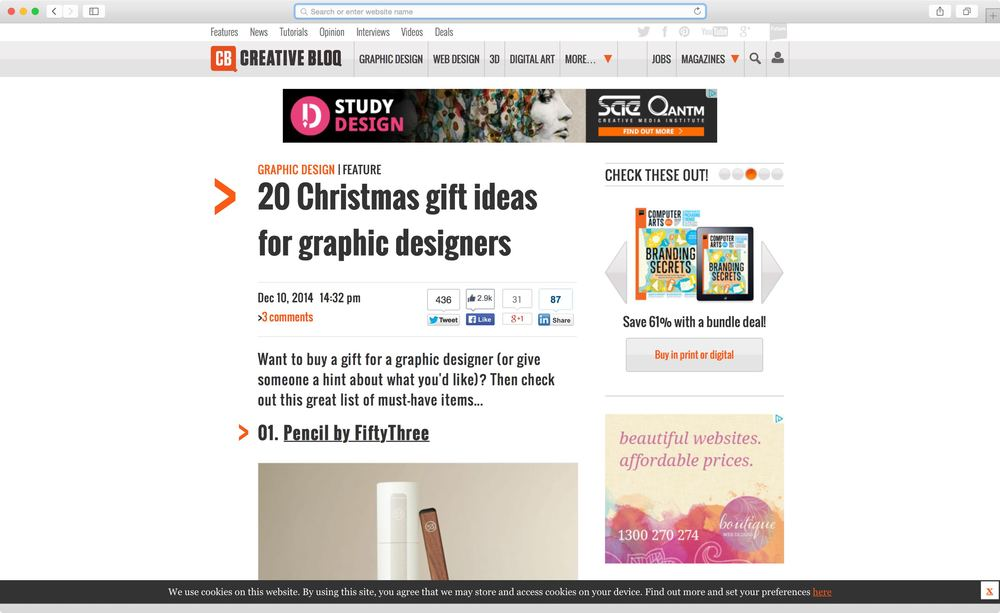 Creative Bloq Gift Guide