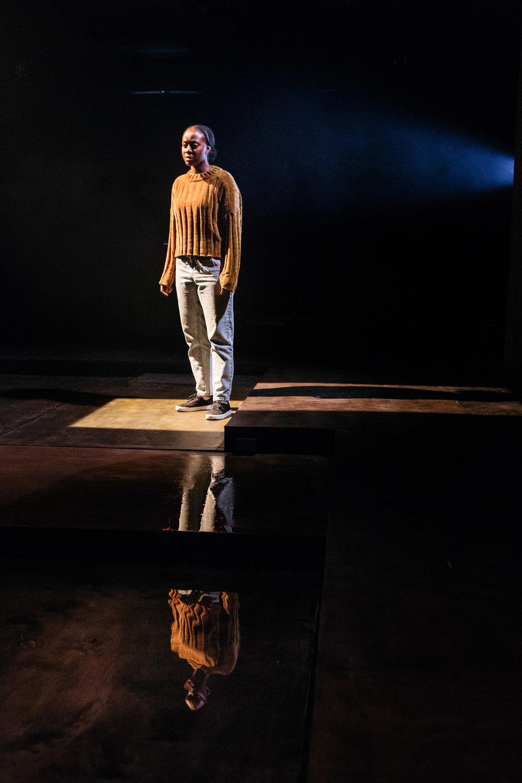 Nicholle Cherrie in Leave Taking at the Bush Theatre © Helen Murray.jpg