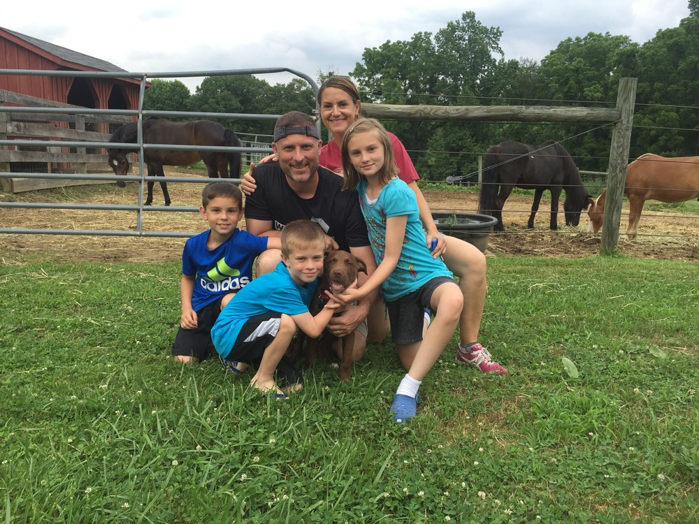 Anders (now Halo) hit the jackpot with his furever family. He's got his own kids to love and play with!