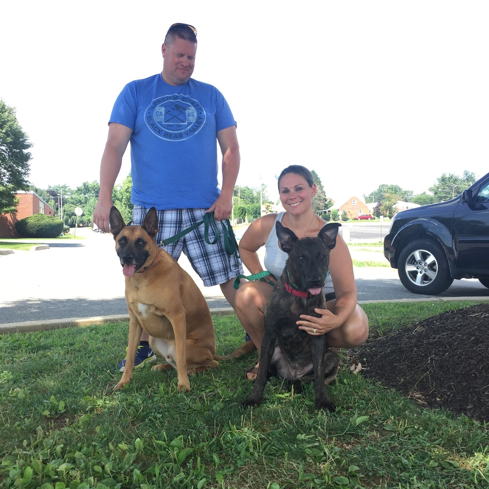 Snickers found her furever home all the way in New Hampshire with the Lewis family!