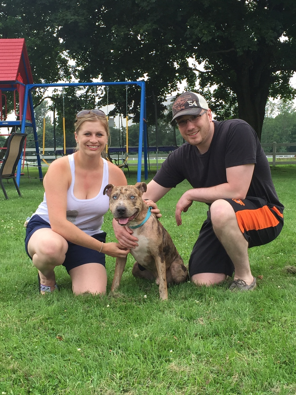 Brody blue eyes gets to stay with Merrilyn and Andrew furever!