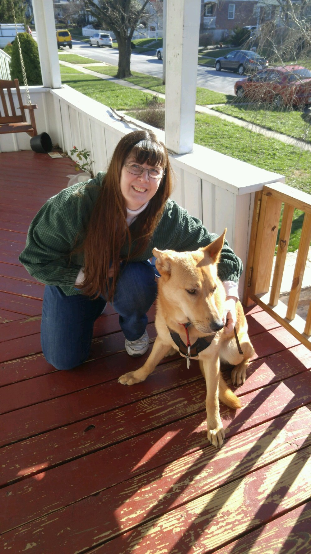 Gretel is ready to be spoiled with her new mom, Michele!