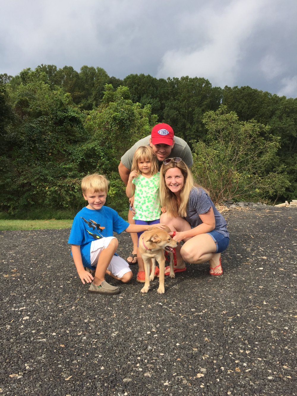 Kylie's furever home is sure to be full of lots of love with the Stanleys!