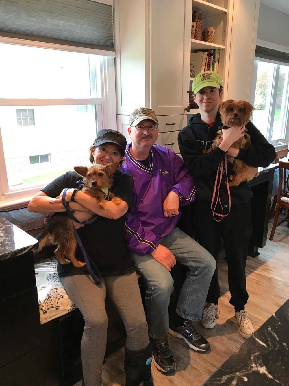Tarzan found his furever family with a furry sister!