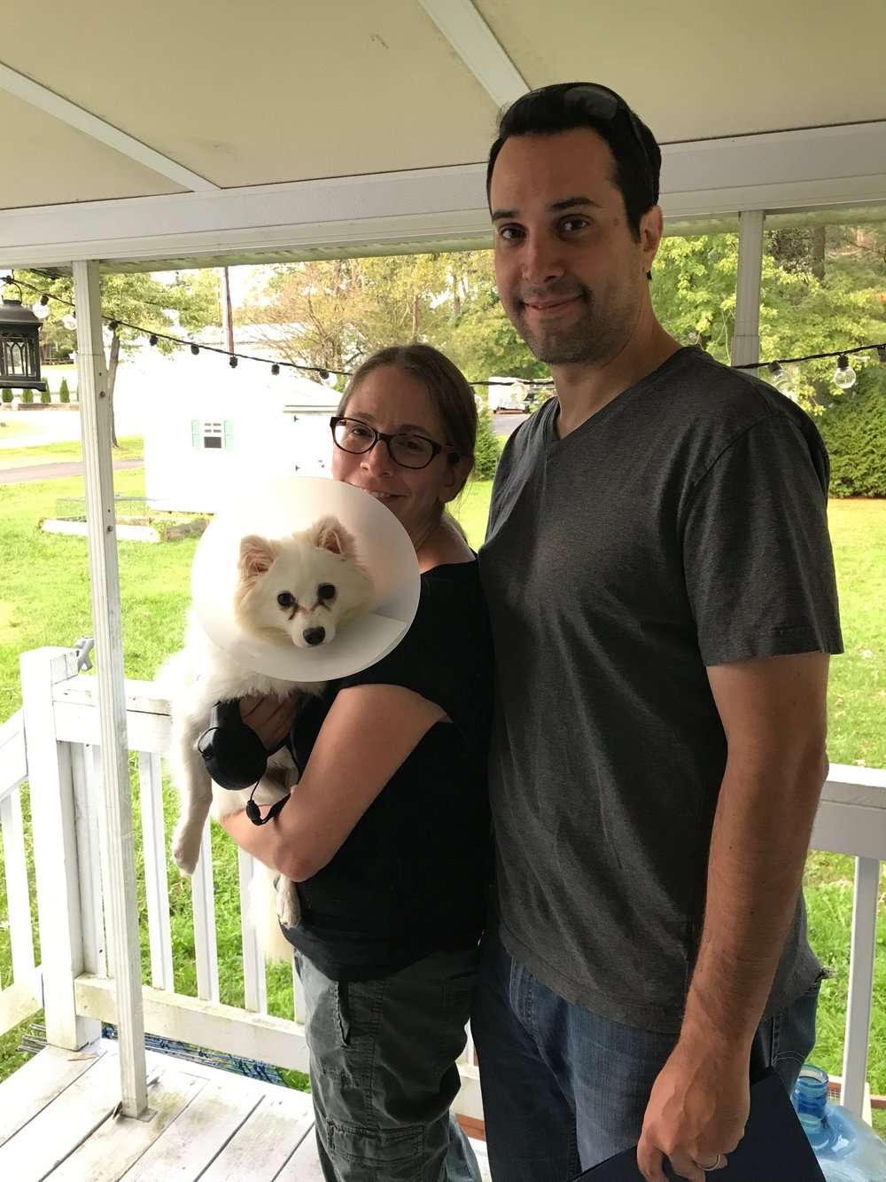 Zooey found her home with Looraine and Mark!