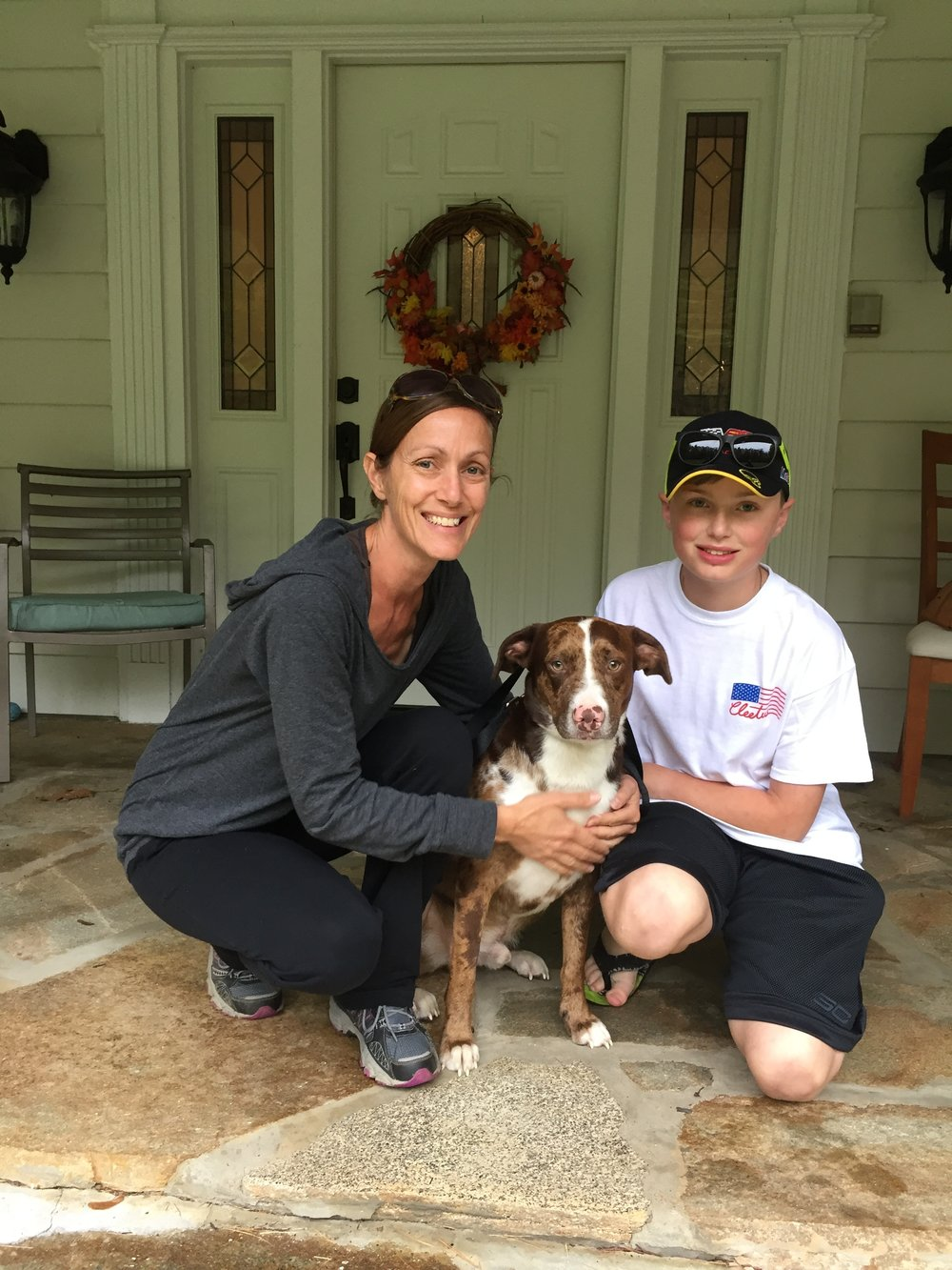 Jackson went to his awesome new home where many adventures await!