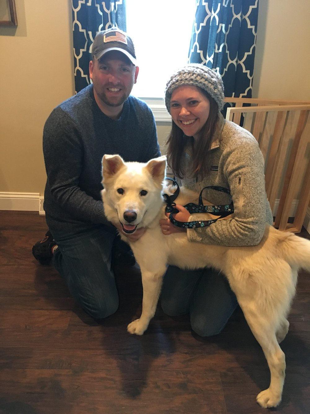Brink was our first 2018 adoption!