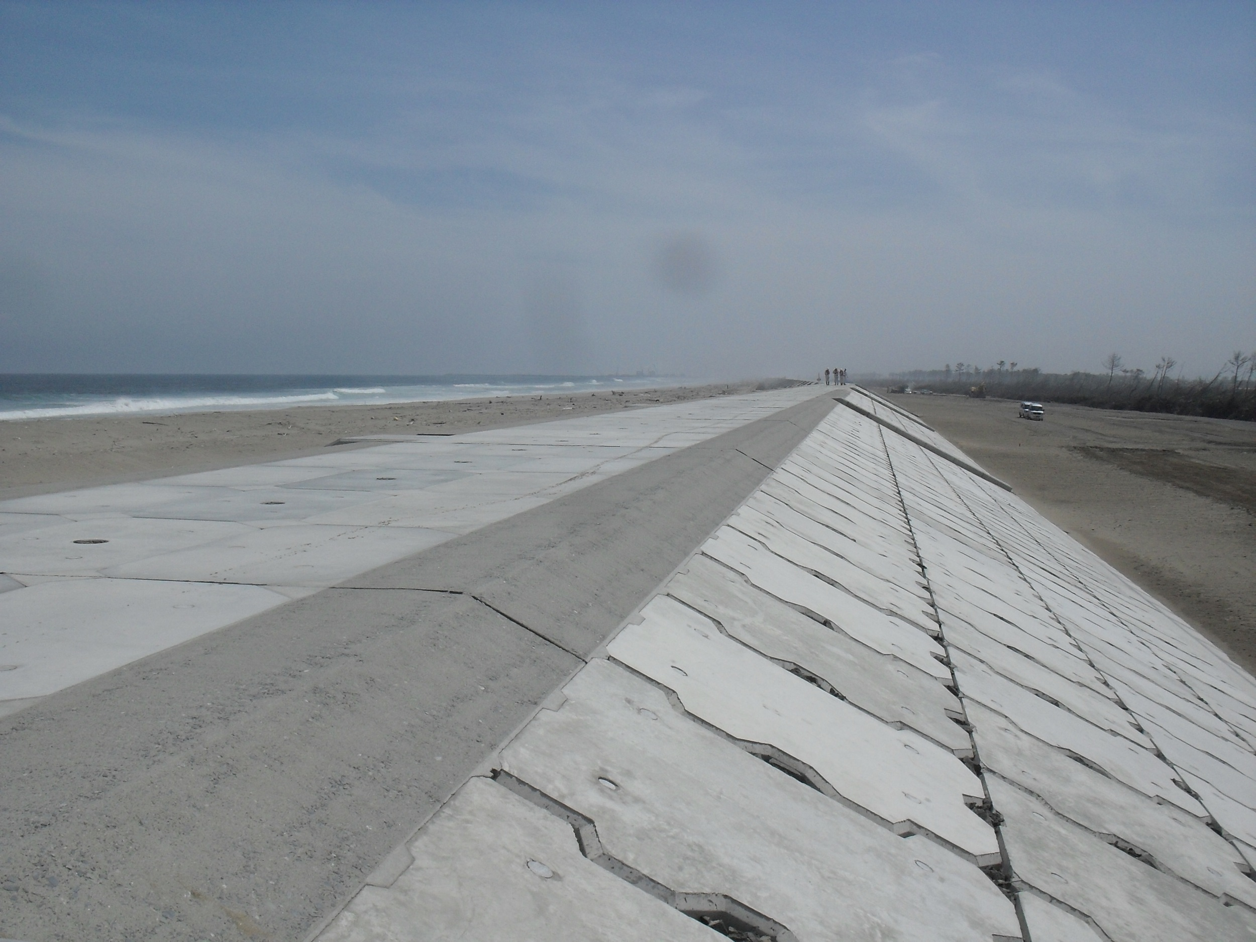 New Sea Wall