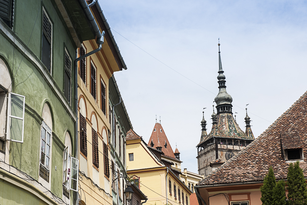 Sighisoara old city is one of Europe's best-preserved living citadels.JPG
